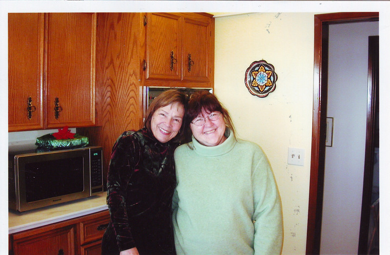 Nice picture of mom and Phyllis.