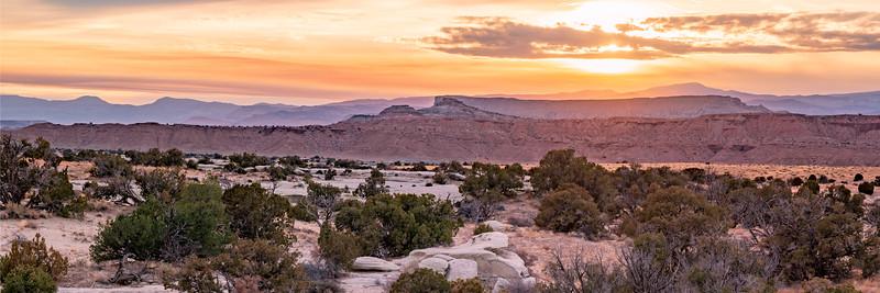 Sand Bench Area, Utah Sunset