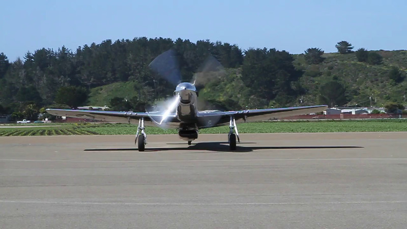 Here's how to park and shut down a P-51 (video)