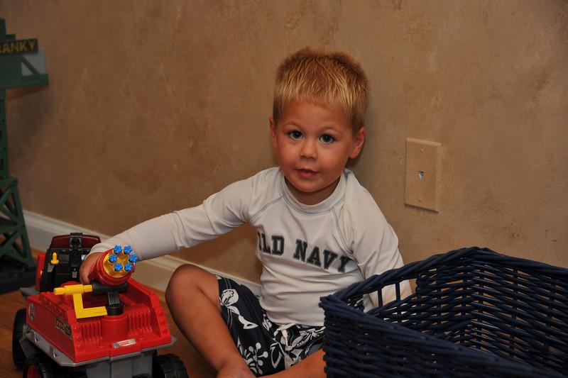 Mason's 3rd Birthday 08-04-2012