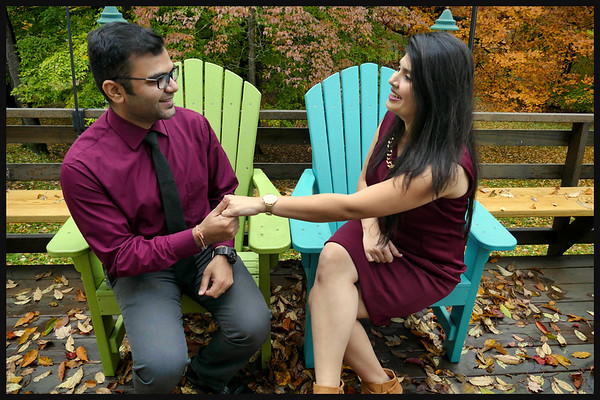 Dr Shril Bhatt and his fiancee Prashanta's pre-wedding photos  11-3-18