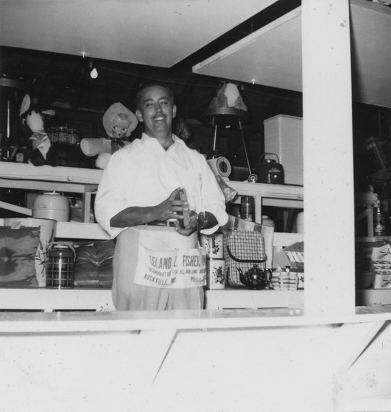 Bingo stand at Carnival  - 1960 Jimmy Fitzsimmons