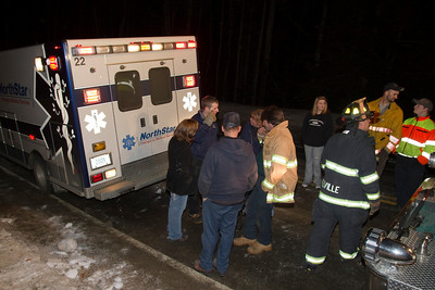 10-55 Rollover with Entrapment - Anson Valley Road, New Vineyard - March 9th, 2011