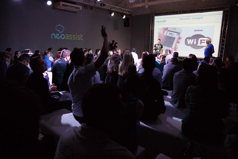 Lançamento nova marca NeoAssist Nexus 2015. Hotel 115, Vila Madalena, São Paulo, 27/07/2015. Foto: Murillo Medina / Erick de Vasconcelos Filmes.
