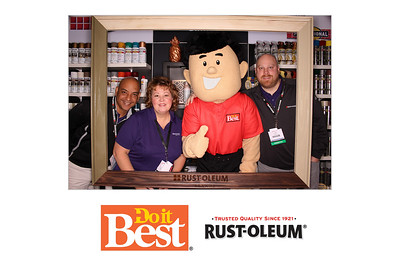 Rust-Oleum Booth at the Do It Best Fall Market