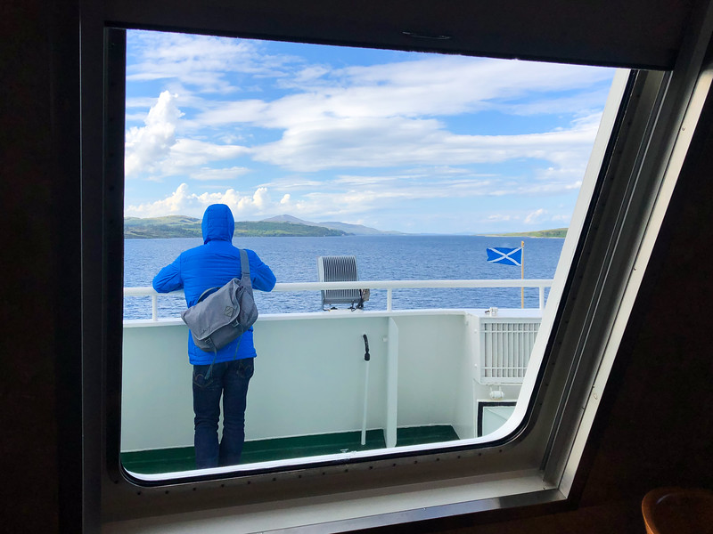 Ferry to Islay in Scotland
