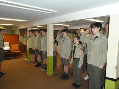 Troop Meeting - Dec 3