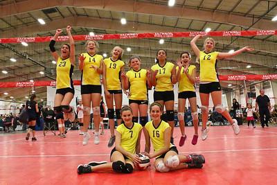 Sac Valley 14's Girls Non League #2 at JSA