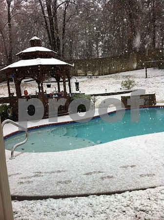 2/25/15 Winter Weather Continues In Tyler Area by Multiple Photographers