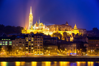 (1) Fishermans Bastion Budapest (River view)