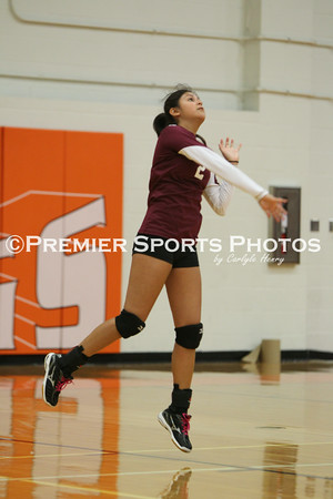 La Porte JV Volleyball vs Lee 8/13/2014