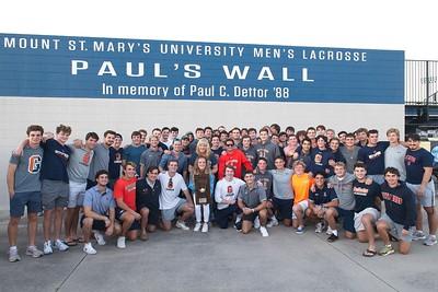 Alumni Game and Paul's Wall Dedication