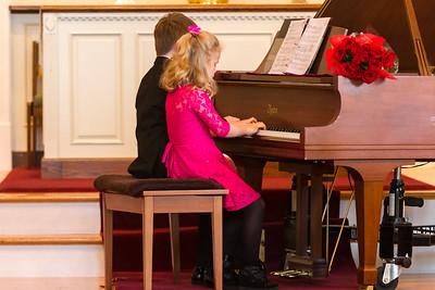 Allegretto Piano - winter 2015 recital