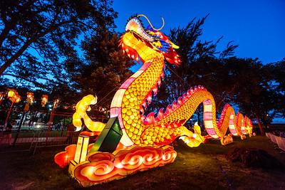 Chinese Lantern Festival Franklin Square Philadelphia