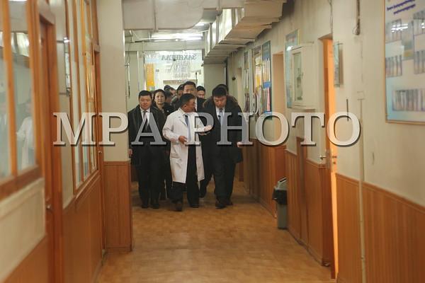 НЗД С.Батболд Сонгинохайрхан, Хан-Уул дүүргийн Эрүүл мэндийн төвүүдэд ажиллаа