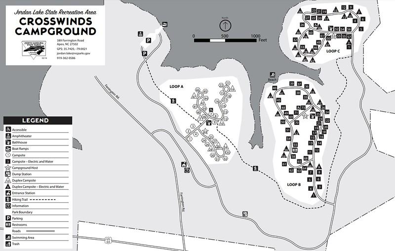 Jordan Lake State Recreation Area (Crosswinds Campground)