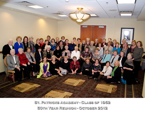 St Patricks Girls Academy Reunion