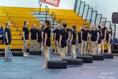 1-25-2020 Norwin Middle School Guard at TRWEA Jeannette