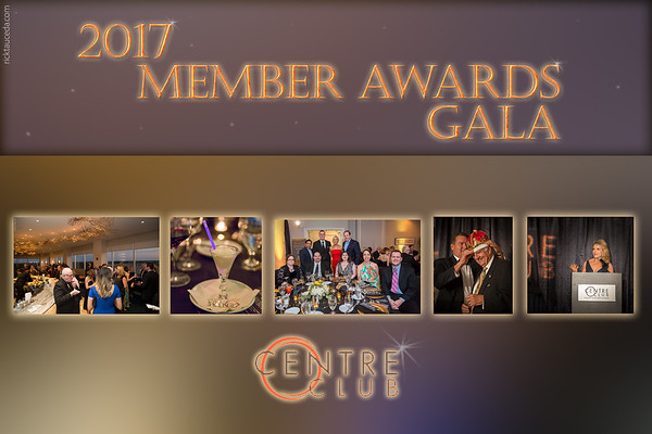 2017 Centre Club Members Awards Gala