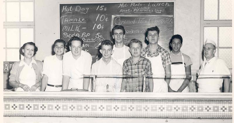 1949, Cafeteria Crew