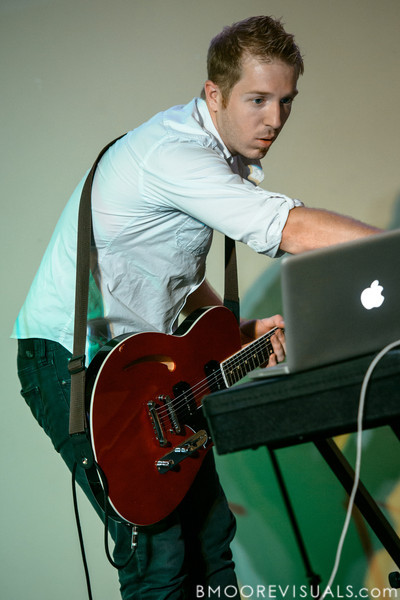 Mike Mage of Bellarive performs on April 15, 2012 at First United Methodist Church in Dunedin, Florida