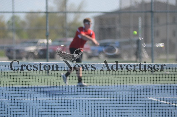 05-12 Creston-SW Valley tennis