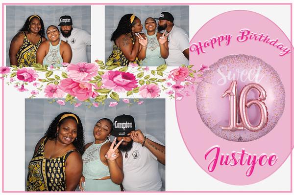 Justyce's Sweet 16