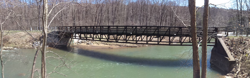 Red Mill Bridge on the Rexis Branch