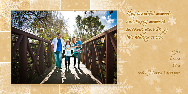 Kuppinger Holiday Cards