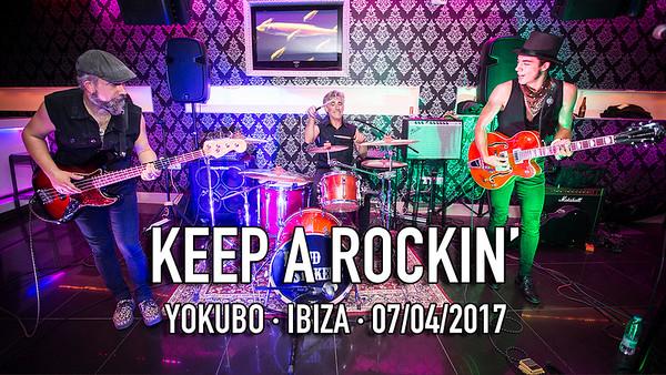 KEEP A ROCKIN' - YOKUBO