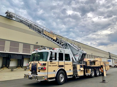 2nd Alarm, Gap Distribution Warehouse, Merritt Blvd