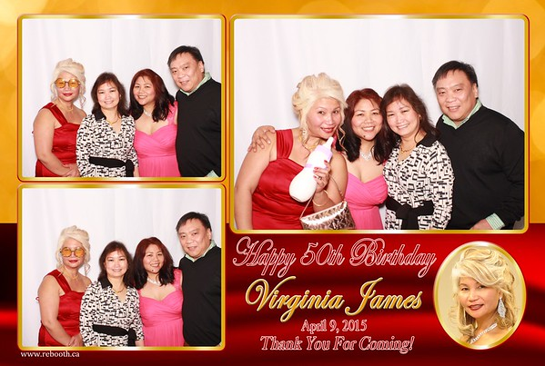 Virginia James 50th Birthday Celebration
