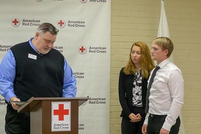 American Red Cross Award | AJ Carey, alumni