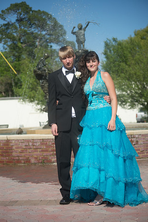 Lance and Cassandra, Berrien High School Prom 2013