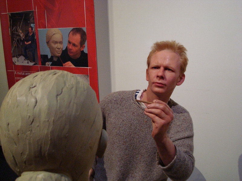 Wax Sculpture Artist in Wax