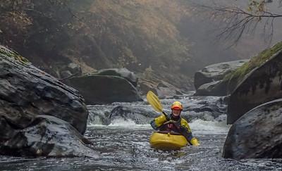 2015-10-24 Slippery Rock Creek, Halloween Paddle & Panic
