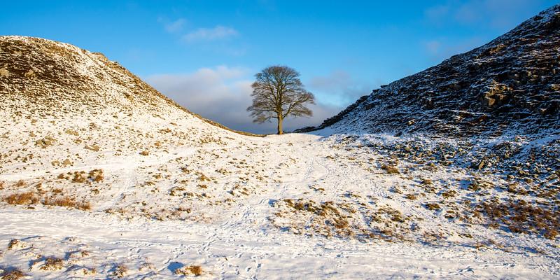 Winter on Hadrian's Wall