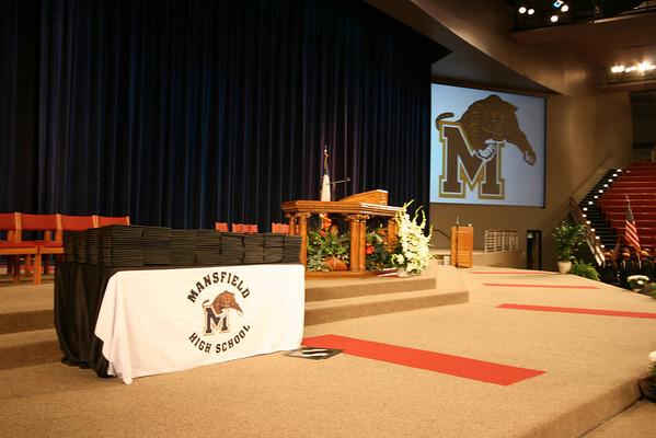 2008 Mansfield H.S. Graduation