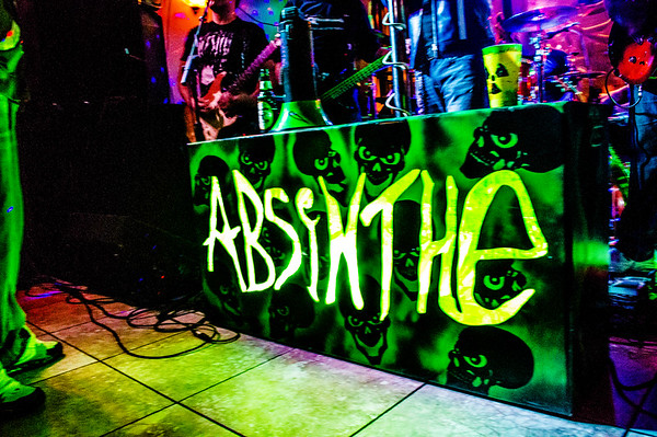 Absinthe At Anthony's 1-10-2014