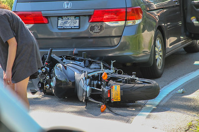 8-28-19 Motorcycle MVA With Injuries, Roa Hook Road, Photos By Bob Rimm