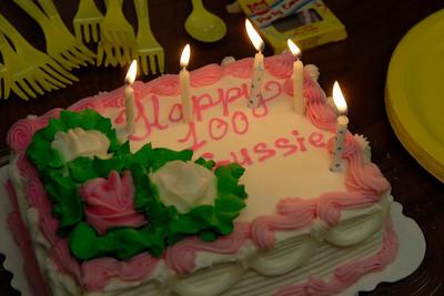 Happy 100th Birthday Gussie. Celebrations at Dellridge