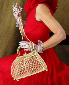 Couture Rouge: Homage to Irving Penn
