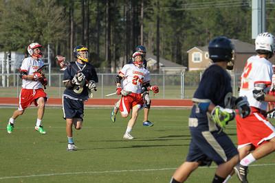 Sandalwood Lacrosse Game Mar 19, 2013