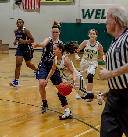 Set five: Girls Varsity Basketball v Cascade Christian 01/15/2019