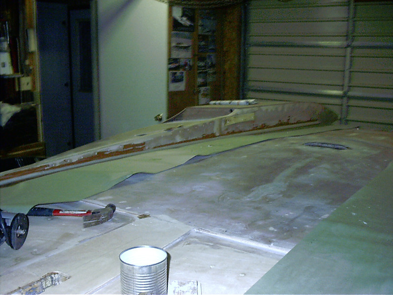 Epoxy fillet installed on starboard side.