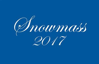 Snowmass 2017