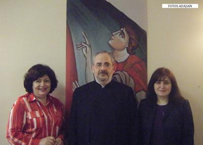 Armenian Studies Coordinator Visits Illinois, April 6-7, 2013