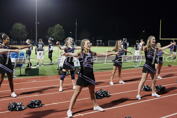 CHCA 2013 Var Cheerleaders vs Reading 09.06