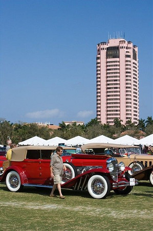 The Inaugural Boca Raton Concours d' Elegance