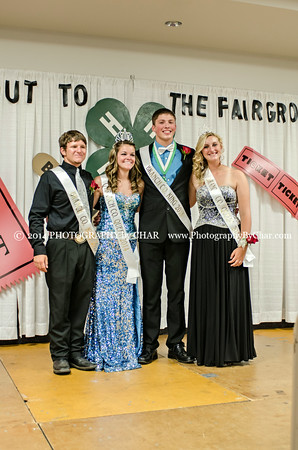 2014 King & Queen Court in the Parade & the Crowning